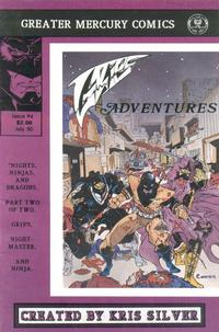 Cover Thumbnail for Grips Adventures (Greater Mercury Comics, 1989 series) #4