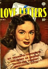 Cover Thumbnail for Love Letters (Quality Comics, 1949 series) #5