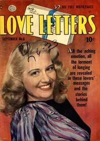 Cover Thumbnail for Love Letters (Quality Comics, 1949 series) #6