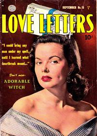 Cover Thumbnail for Love Letters (Quality Comics, 1949 series) #13