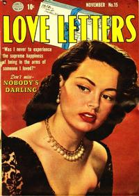 Cover Thumbnail for Love Letters (Quality Comics, 1949 series) #15