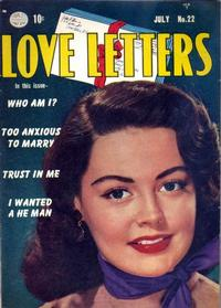Cover Thumbnail for Love Letters (Quality Comics, 1949 series) #22