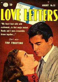 Cover Thumbnail for Love Letters (Quality Comics, 1949 series) #23