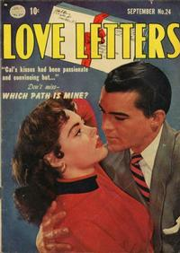 Cover Thumbnail for Love Letters (Quality Comics, 1949 series) #24