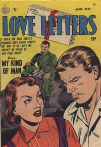 Cover Thumbnail for Love Letters (Quality Comics, 1949 series) #29