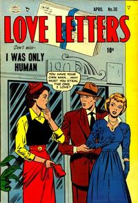 Cover Thumbnail for Love Letters (Quality Comics, 1949 series) #30