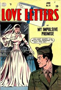 Cover Thumbnail for Love Letters (Quality Comics, 1949 series) #31