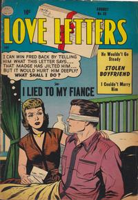 Cover Thumbnail for Love Letters (Quality Comics, 1954 series) #35