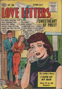 Cover Thumbnail for Love Letters (Quality Comics, 1954 series) #41