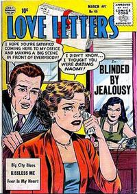 Cover Thumbnail for Love Letters (Quality Comics, 1954 series) #46