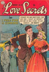 Cover Thumbnail for Love Secrets (Quality Comics, 1953 series) #32