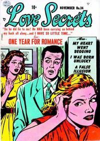 Cover Thumbnail for Love Secrets (Quality Comics, 1953 series) #34