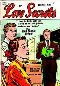 Cover Thumbnail for Love Secrets (Quality Comics, 1953 series) #35