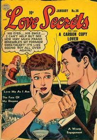 Cover Thumbnail for Love Secrets (Quality Comics, 1953 series) #36