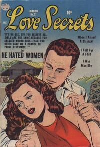 Cover Thumbnail for Love Secrets (Quality Comics, 1953 series) #37