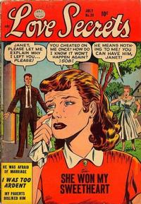 Cover Thumbnail for Love Secrets (Quality Comics, 1953 series) #39