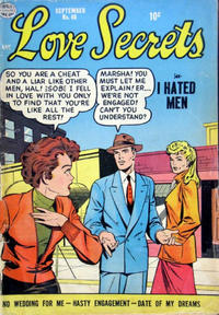 Cover Thumbnail for Love Secrets (Quality Comics, 1953 series) #40