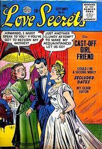 Cover Thumbnail for Love Secrets (Quality Comics, 1953 series) #45