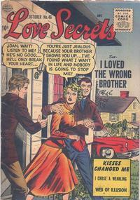 Cover Thumbnail for Love Secrets (Quality Comics, 1953 series) #46