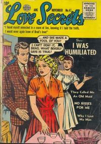Cover Thumbnail for Love Secrets (Quality Comics, 1953 series) #47