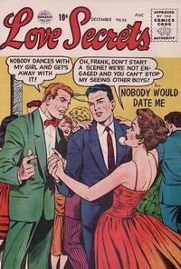 Cover Thumbnail for Love Secrets (Quality Comics, 1953 series) #56