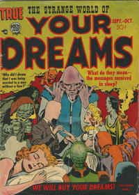 Cover Thumbnail for Strange World of Your Dreams (Prize, 1952 series) #v1#2