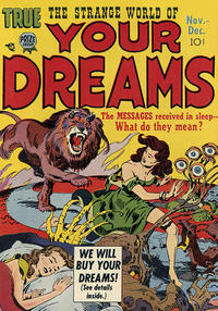 Cover Thumbnail for Strange World of Your Dreams (Prize, 1952 series) #v1#3