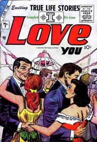 Cover Thumbnail for I Love You (Charlton, 1955 series) #7