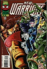 Cover Thumbnail for The New Warriors (Marvel, 1990 series) #73