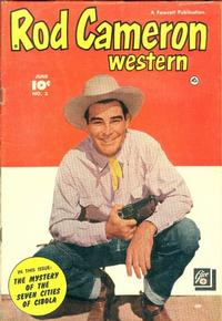 Cover Thumbnail for Rod Cameron Western (Fawcett, 1950 series) #3
