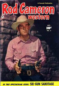 Cover Thumbnail for Rod Cameron Western (Fawcett, 1950 series) #5