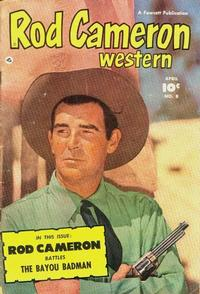 Cover Thumbnail for Rod Cameron Western (Fawcett, 1950 series) #8
