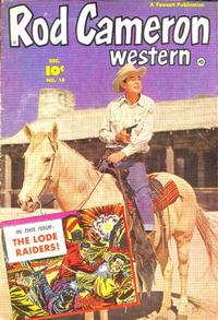 Cover Thumbnail for Rod Cameron Western (Fawcett, 1950 series) #18