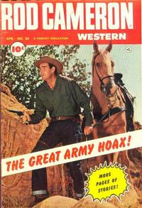 Cover Thumbnail for Rod Cameron Western (Fawcett, 1950 series) #20