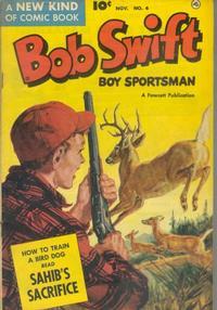 Cover Thumbnail for Bob Swift, Boy Sportsman (Fawcett, 1951 series) #4