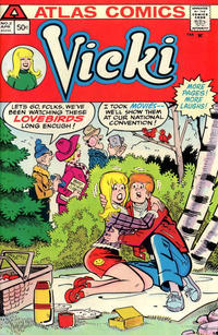 Cover Thumbnail for Vicki (Seaboard, 1975 series) #2
