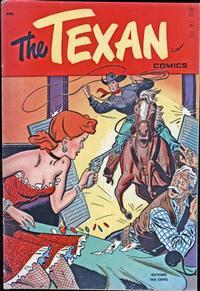 Cover Thumbnail for The Texan (St. John, 1948 series) #2