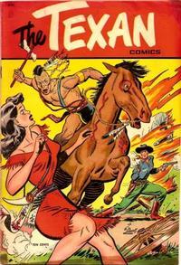 Cover Thumbnail for The Texan (St. John, 1948 series) #3