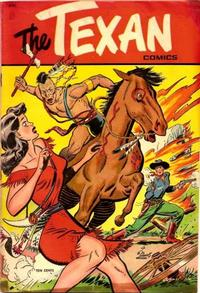 Cover Thumbnail for The Texan (St. John, 1948 series) #3