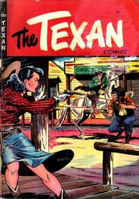 Cover Thumbnail for The Texan (St. John, 1948 series) #4