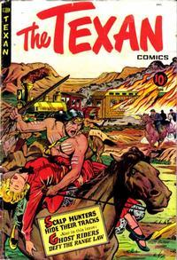 Cover Thumbnail for The Texan (St. John, 1948 series) #8