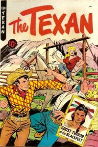 Cover Thumbnail for The Texan (St. John, 1948 series) #9