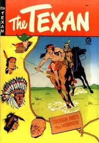 Cover Thumbnail for The Texan (St. John, 1948 series) #10
