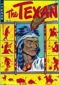 Cover Thumbnail for The Texan (St. John, 1948 series) #12