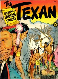 Cover Thumbnail for The Texan (St. John, 1948 series) #15