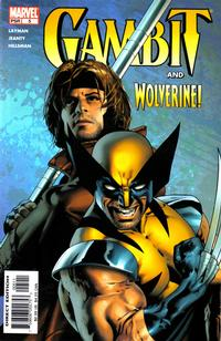 Cover Thumbnail for Gambit (Marvel, 2004 series) #5