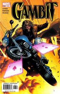 Cover Thumbnail for Gambit (Marvel, 2004 series) #6