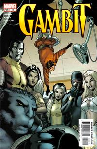 Cover Thumbnail for Gambit (Marvel, 2004 series) #10