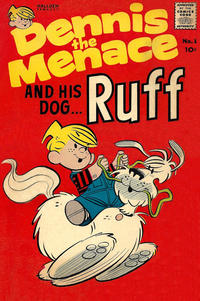 Cover Thumbnail for Dennis the Menace and His Dog Ruff (Hallden; Fawcett, 1961 series) #1