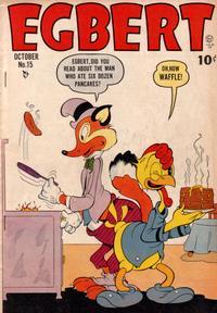 Cover Thumbnail for Egbert (Quality Comics, 1946 series) #15